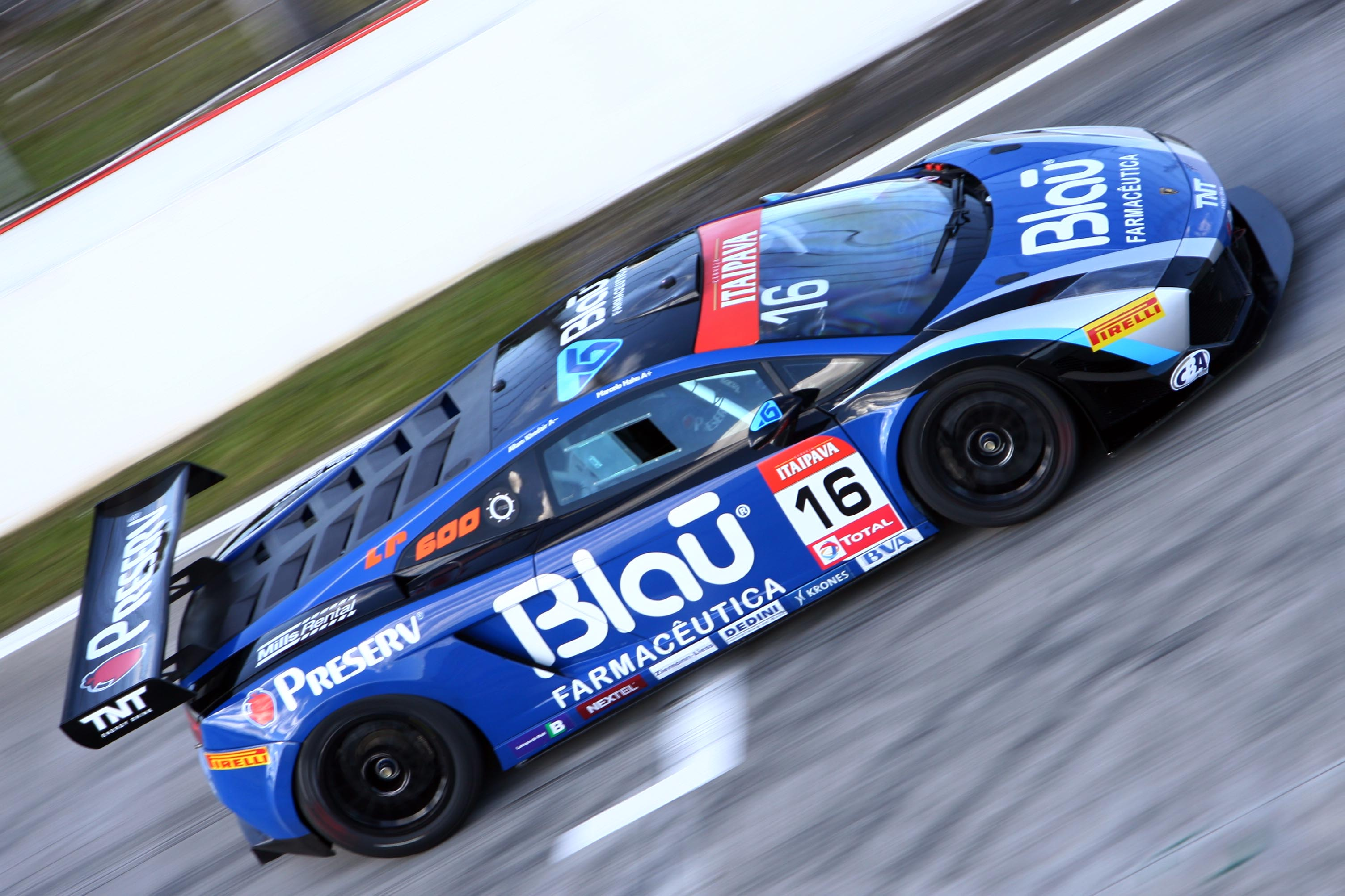 Blau Motorsport Secure Double Win In Brazilian Gt With Lamborghini
